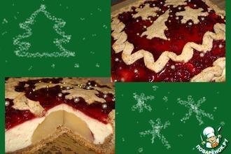 Рецепт: Рождественский творожный пирог