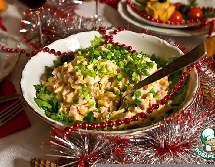 Рецепт: Пражский салат