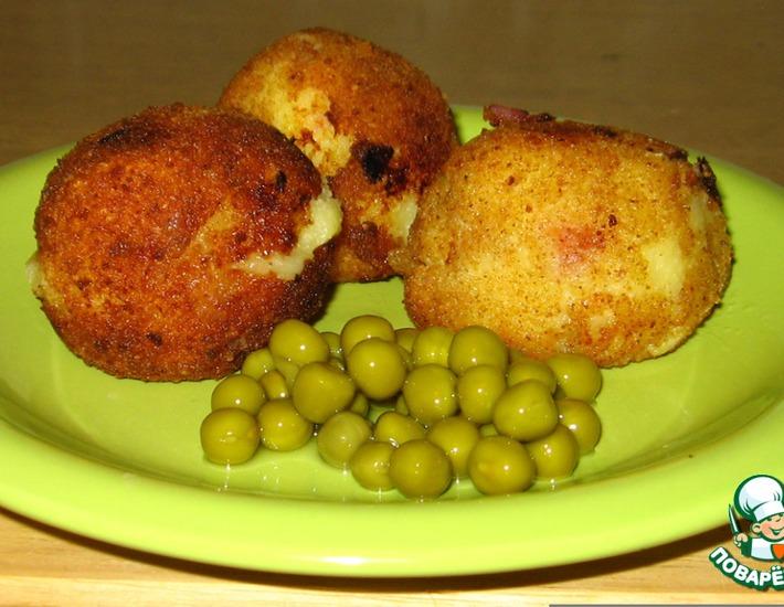 Рецепт: Картофельные крокеты