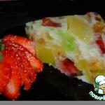 Желейно-персиковый торт