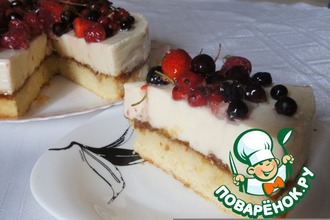 Рецепт: Нежный торт - пока без названия