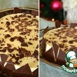 Торт с двойным муссом Капуччино