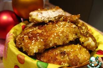 Рецепт: Домашние куриные наггетсы