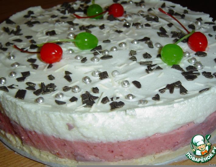 """Рецепт: Десертный торт """"Наслаждение"""""""
