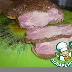 Свинина, запеченная в травах и приправах