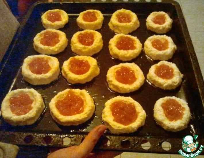 Рецепт: Творожные ватрушки