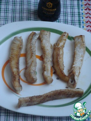 """Рыбка """"в ажуре"""" – кулинарный рецепт"""