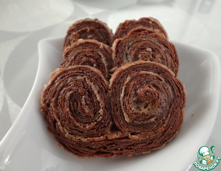 Рецепт: Шоколадное слоеное тесто от Стельоса Парльяроса