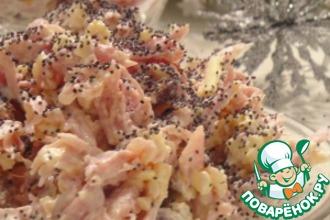 Рецепт: Салат из копченой курицы