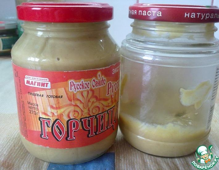 Домашний вариант острой горчицы – кулинарный рецепт