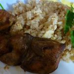 Перепела с рисом
