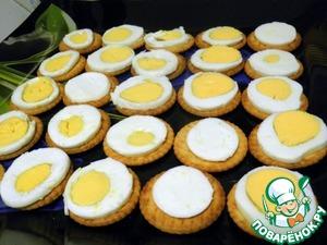 """Канапе """"Рыбные яйца"""" – кулинарный рецепт"""