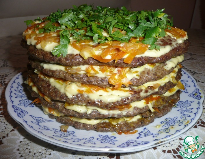 торт из печени рецепт правильное питание