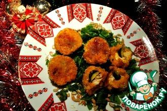 Рецепт: Закусочные сырные шарики с индейкой