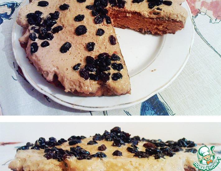 Рецепт: Быстрый пирог Любитель сгущёнки