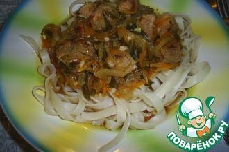 Рецепт: Лагман Привет из Бишкека