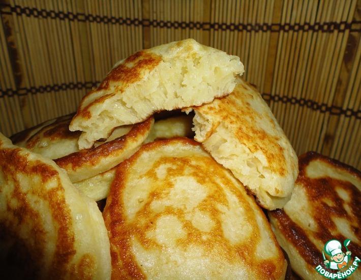 Рецепт: Тесто для оладьев из хлебопечки