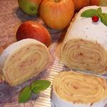 Рулет с яблоками Боло-де-Роло