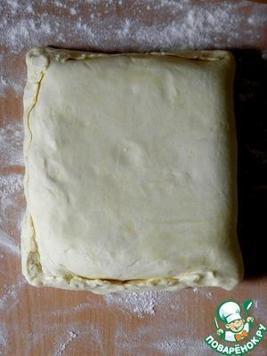 Слоеное тесто «наоборот» – кулинарный рецепт