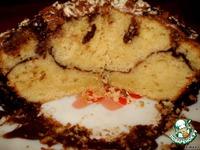 Сочный лимонный кекс с какао ингредиенты