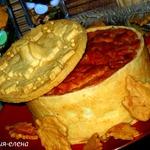 Итальянский пирог Тимбале