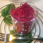 Салат из свеклы и картофеля по-фински