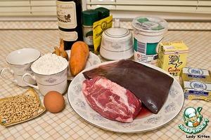 """Горячий паштет в тесте """"Новогодняя корона"""" – кулинарный рецепт"""