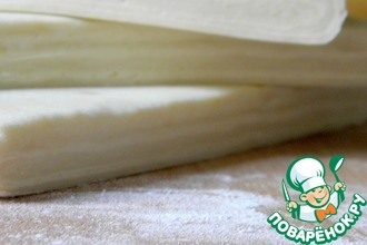 Рецепт: Слоеное тесто «наоборот»