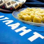 Картофельные клецки с форелью