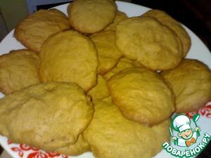 Печенье снять с противня, сложить и дать остыть.