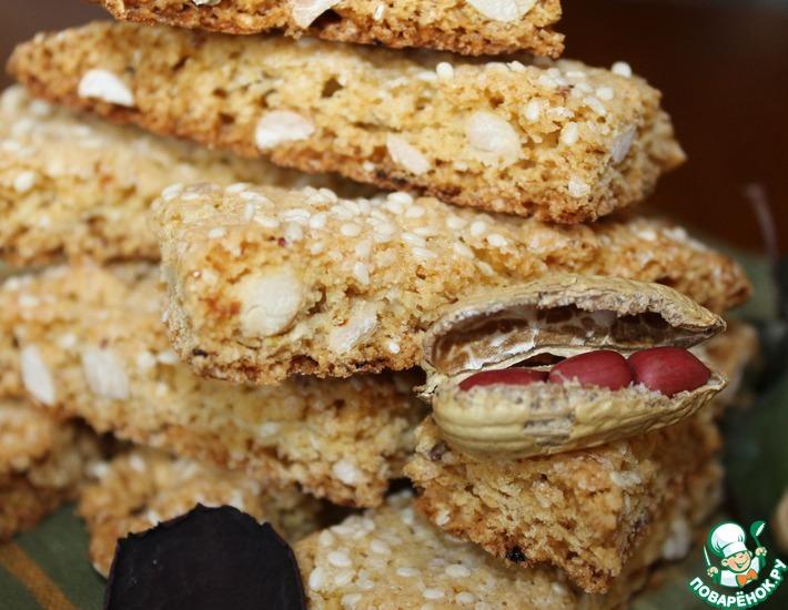 Рецепт: Итальянское печенье бискотти