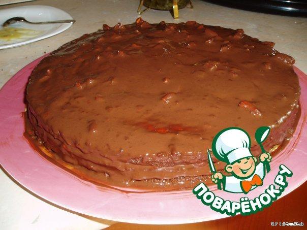 Миндальный торт almondy