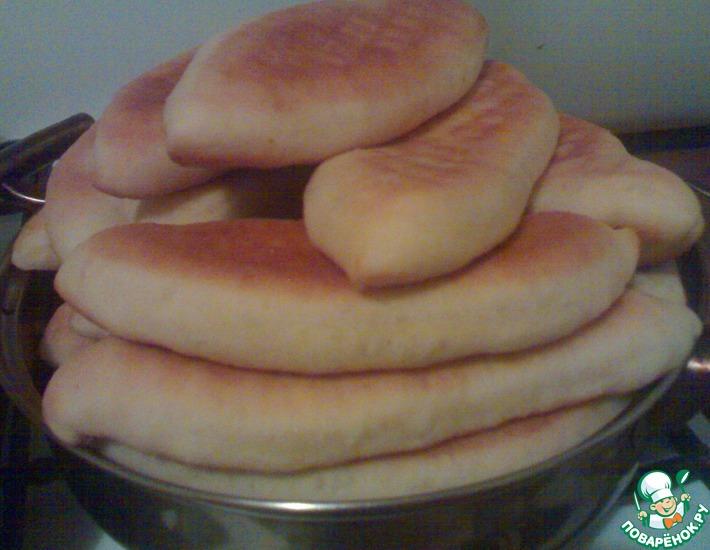 Рецепт: Пирожки с картошкой и печенкой