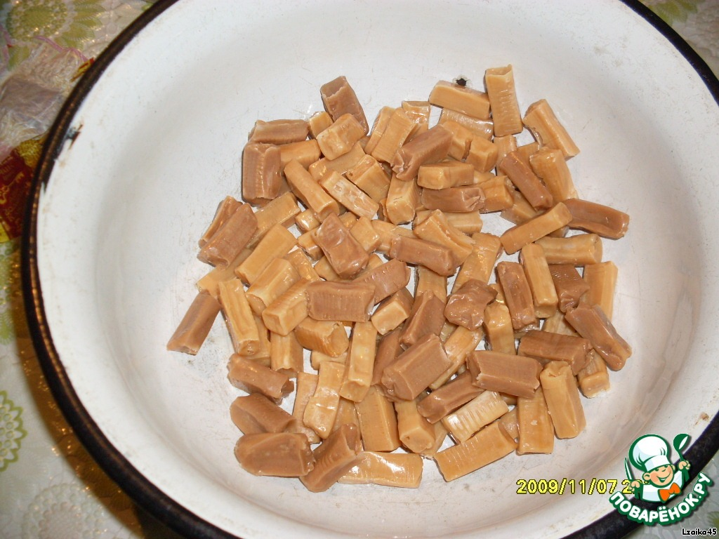 Вариация на тему сладкой колбаски