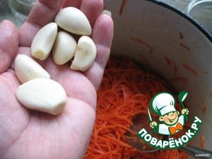 Берeм 6 зубчиков чеснока