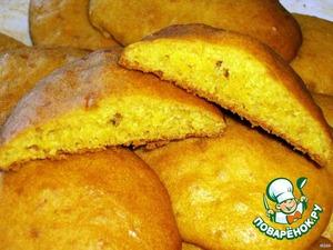 Тесто выкладываем ложкой на разогретый противень, предварительно смазанный маслом. И ставим наше печенье в разогретую духовку (180 градусов). Выпекаем 10-15 минут.
