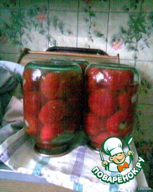 Banks to turn upside down, wrap and leave to cool.  I put the peppers in 2-liter cans and I got out of this number of 3 banks.  In the winter open is yummy and delicious!