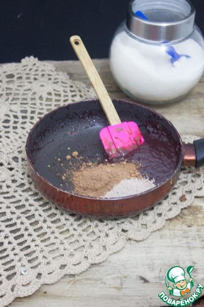Шоколадно-сливовый крем