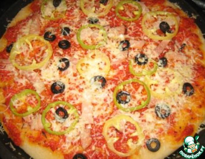 Рецепт: Пицца Классик