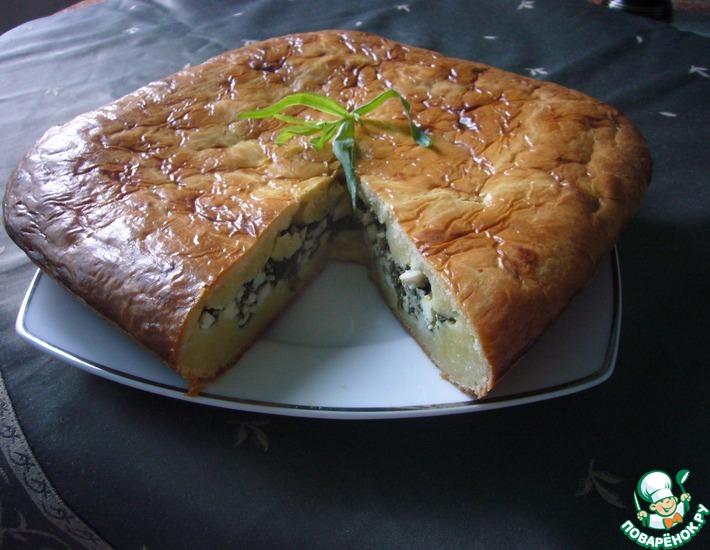 Рецепт: Пирог с тархуном