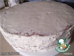 крем:    молоко вскипятить, добавить муку, яйца, ванилин - остудить.    потом добавить преварительно размягчённое масло и сахар.    взбивать сначала на маленькой скорости, а потом на большой.       перемазать каждый корж, сверху можно крем или помадку,   украсить.       помадка