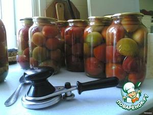 Мамины помидоры – кулинарный рецепт