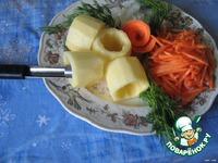 Картофель запечeный с соевым мясом ингредиенты