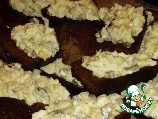 "Бутерброды ""911"" – кулинарный рецепт"