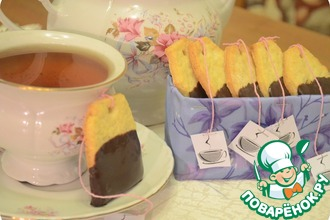 Рецепт: Печенье Чайный пакетик