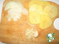 Запеченный картофель Лепестки ингредиенты