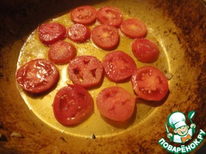 Spread on a hot pan with vegetable oil, lightly salt.