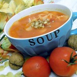 Холодный фитнес-суп из овощей с йогуртом – кулинарный рецепт