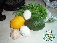 Закуска из авокадо ингредиенты