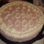 Бисквитный торт-суфле с клубникой